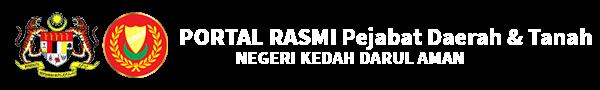 Portal Rasmi Pejabat Daerah & Tanah Negeri Kedah